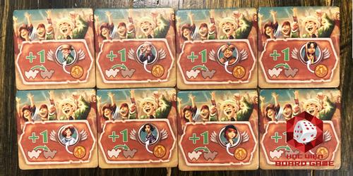 Thẻ bài cổ vũ các chú lạc đà