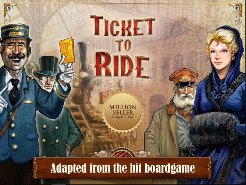 Ticket To Ride là bộ board game giành được nhiều giải thưởng lớn.