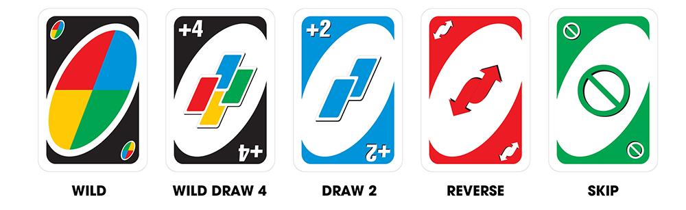 Những lá bài đặc biệt trong bộ bài Uno