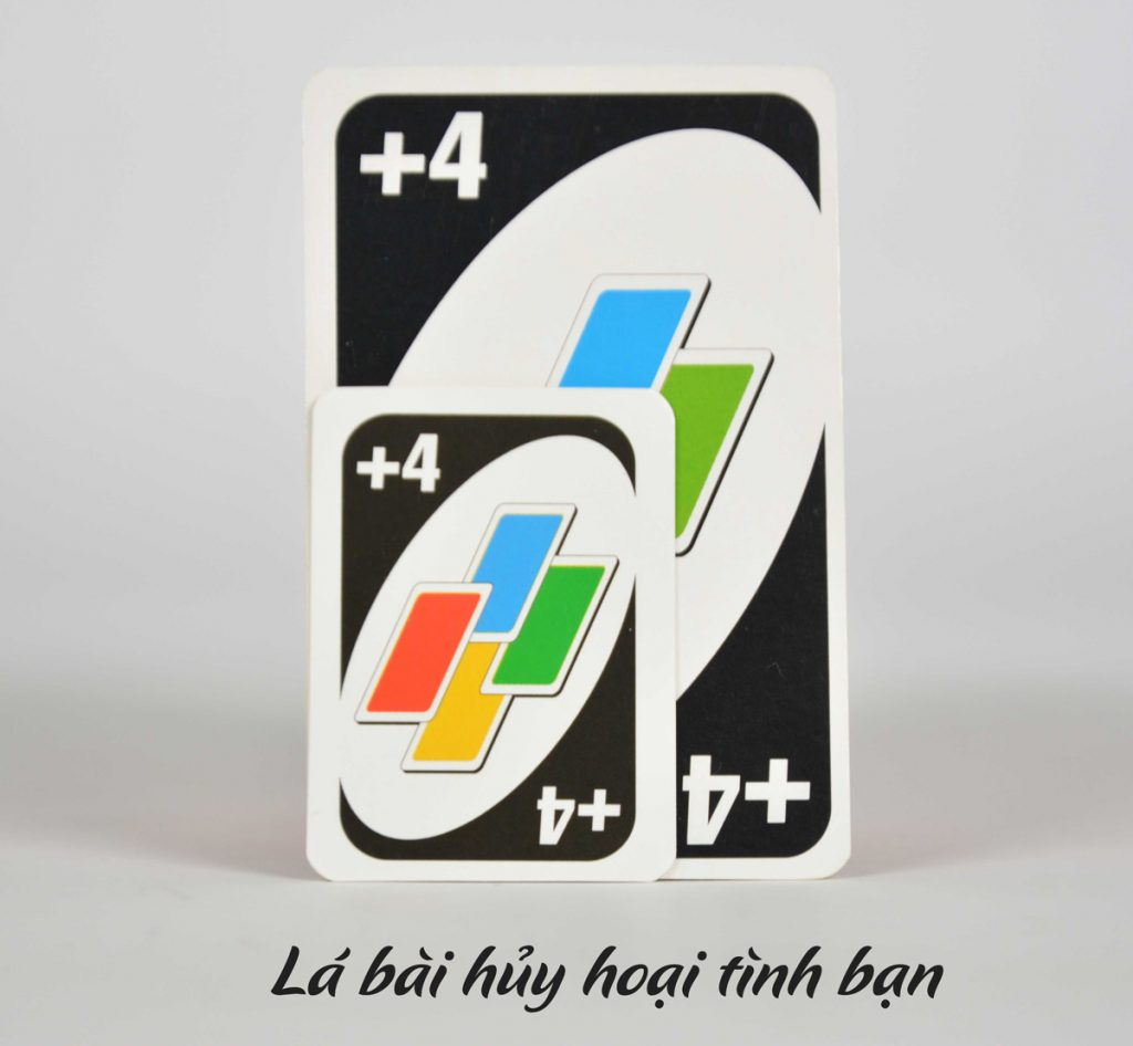 Lá bài trong Uno, cách chơi Uno chi tiết