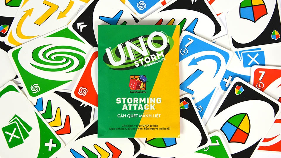 Uno Storm – Uno mở rộng 2