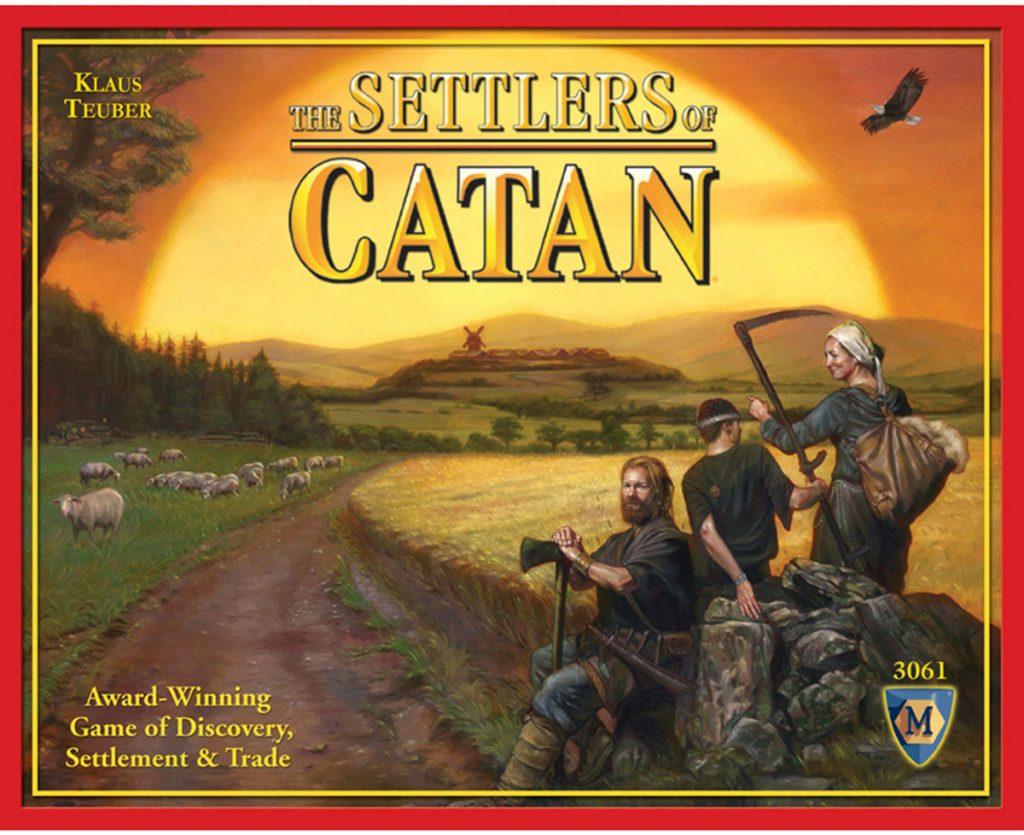 Catan còn có tên gọi khác là The Settlers of Catan.