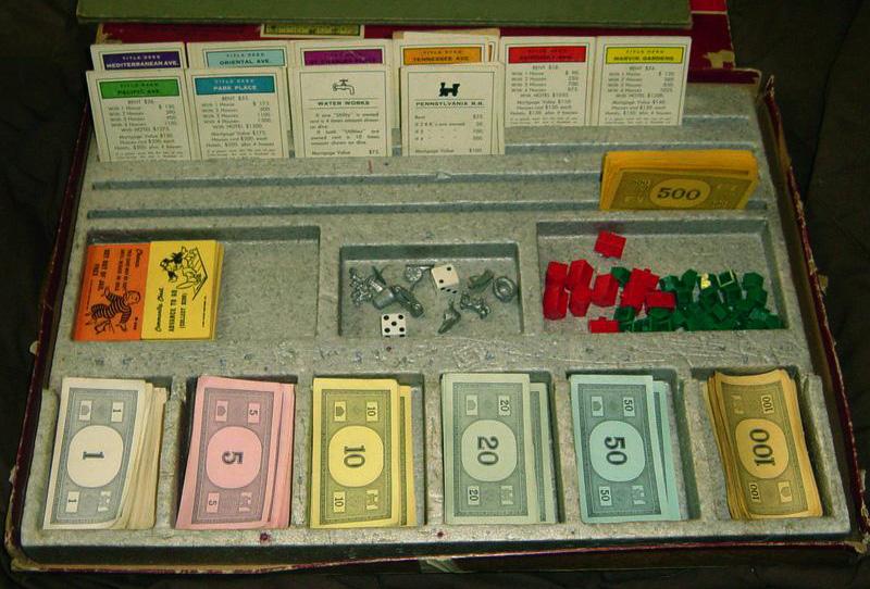 Ngân hàng của trò chơi Monopoly
