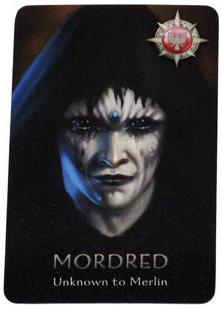 Mordred là nhân vật tùy chọn thuộc phe xấu. Năng lực đặc biệt của Mordred là thân phận của hắn không bị phát hiện bởi Merlin ở đầu trò chơi. Thêm Mordred vào trò chơi sẽ giúp tăng thêm sức mạnh cho phe xấu.