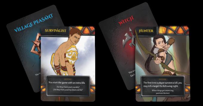 Cặp bài ví dụ trong Witch Hunt