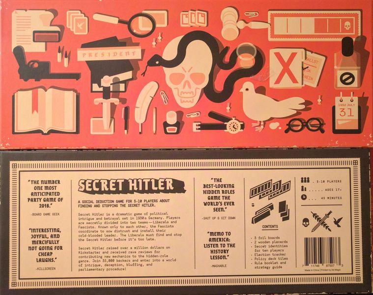 Hướng dẫn cách chơi board game Secret Hitler ( 2016 )