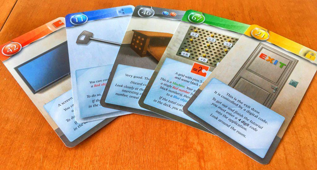 Các thẻ bài trong game Unlock!
