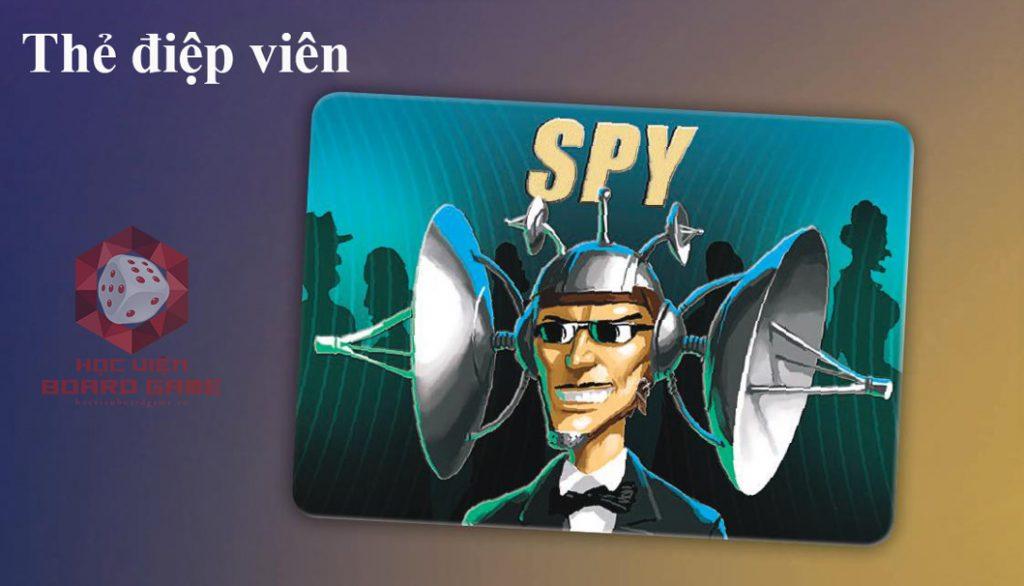 Lá bài thẻ điệp viên trong Spyfall