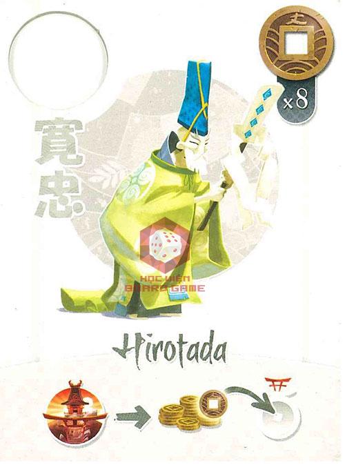 Thẻ bài Hirotada the priest