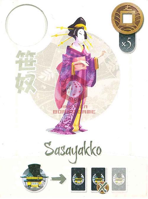 Thẻ bài Sasayakko