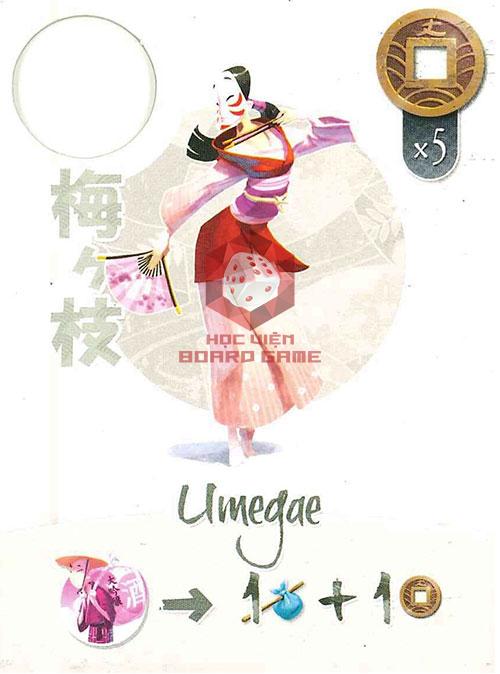 Thẻ bài Umegae