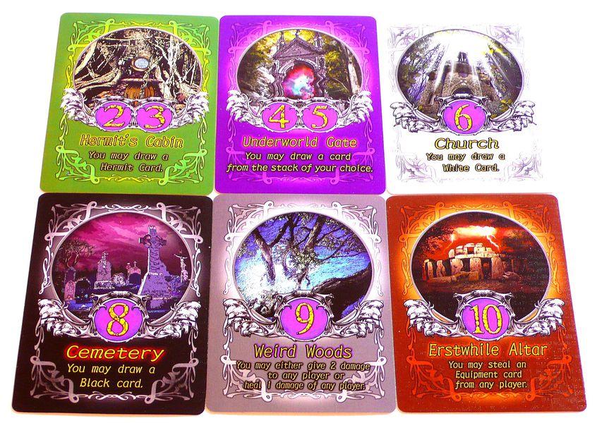 Các card trong board game Shadow Hunter