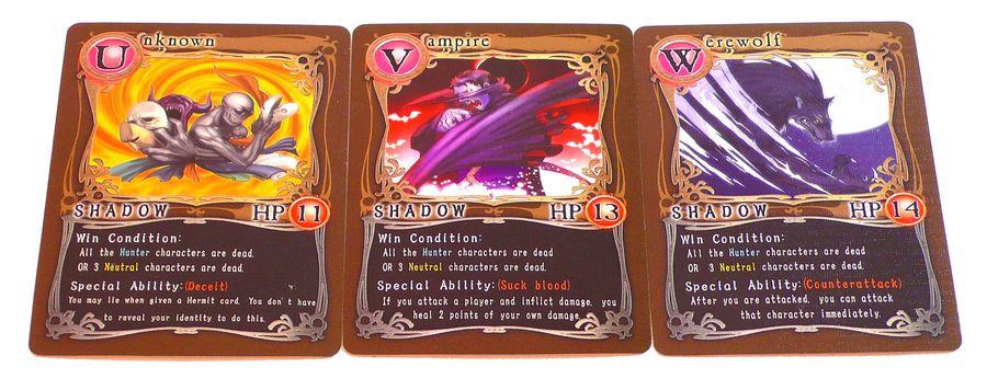 Các card nhân vật phe Shadow