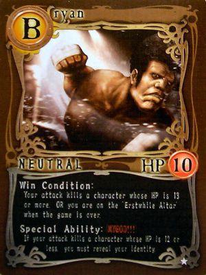 Card nhân vật phe Neutral - Bryan