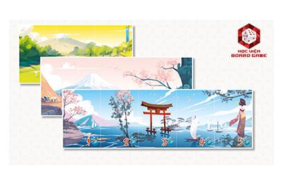 Cố găng xếp các thẻ Panoma của bạn để hoàn thành một bức tranh phong cảnh nhé!