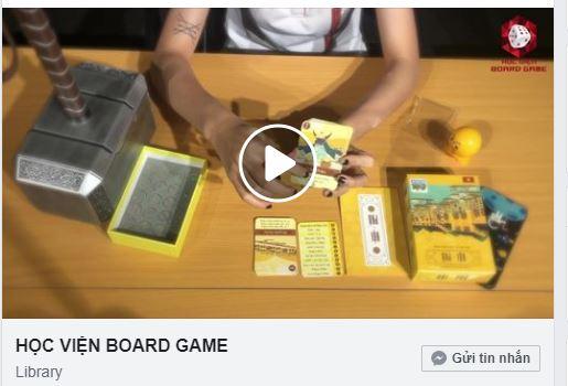 Coi video là một cách hữu hiệu và tiện lợi dành cho những board gamer lười đọc, nhưng thích xem.