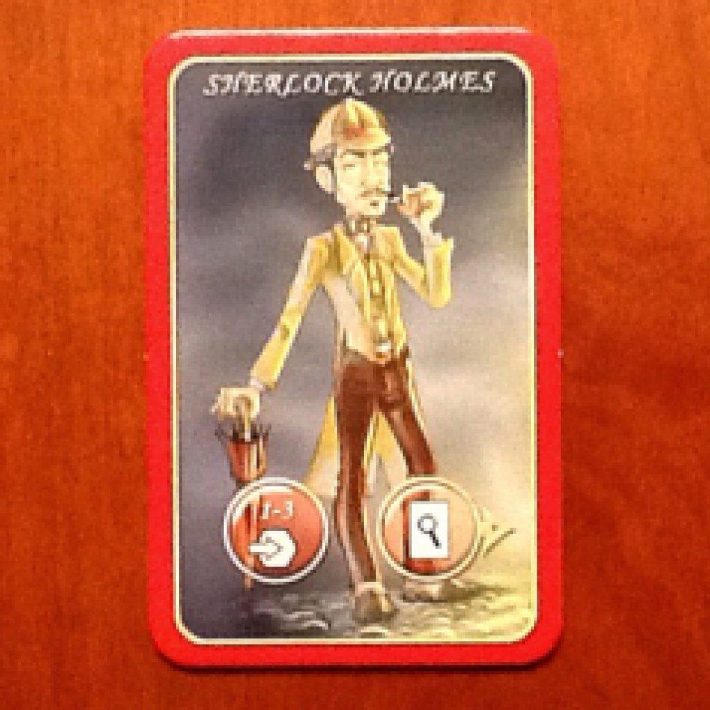 Nhân vật Sherlock Holmes trong Mr Jack