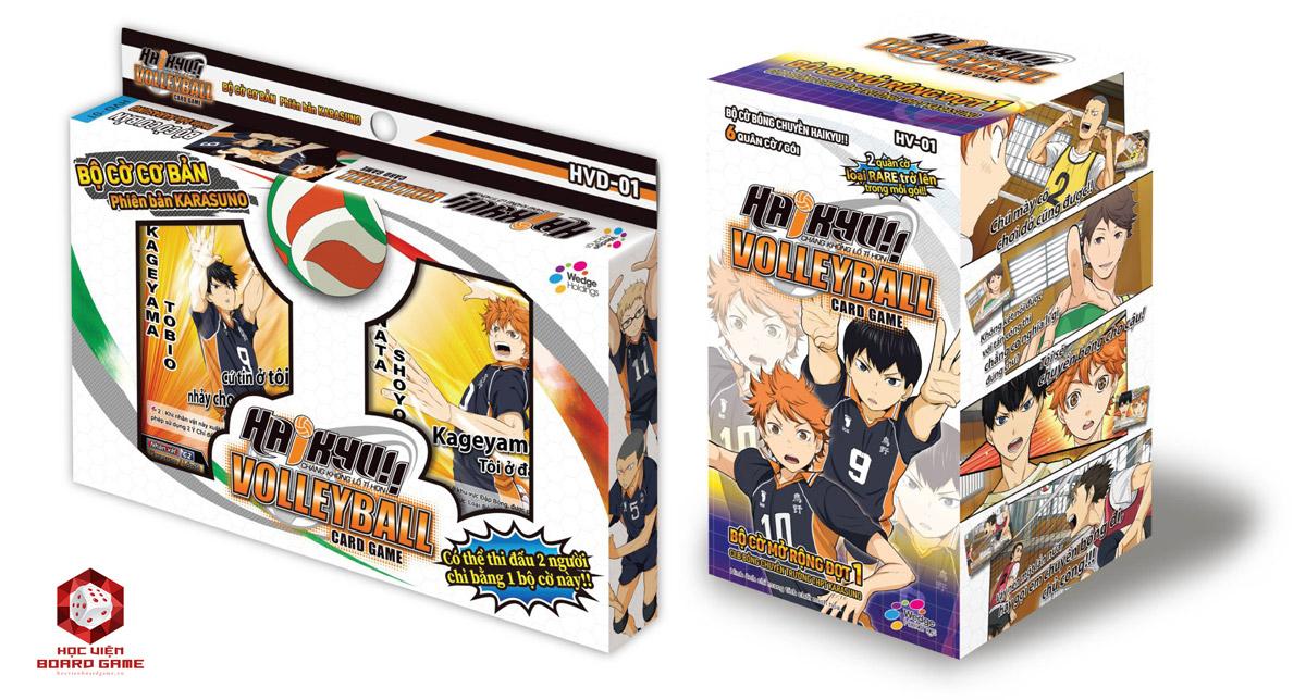 Hướng dẫn cách chơi boardgame Haikyu Volleyball Card Game