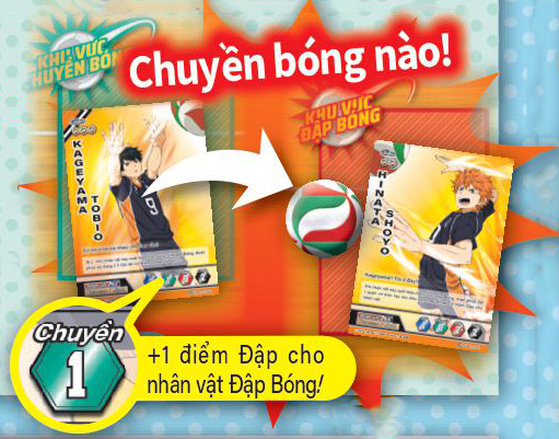 Hướng dẫn cách chơi boardgame Haikyu Volleyball Card GameHướng dẫn cách chơi boardgame Haikyu Volleyball Card Game