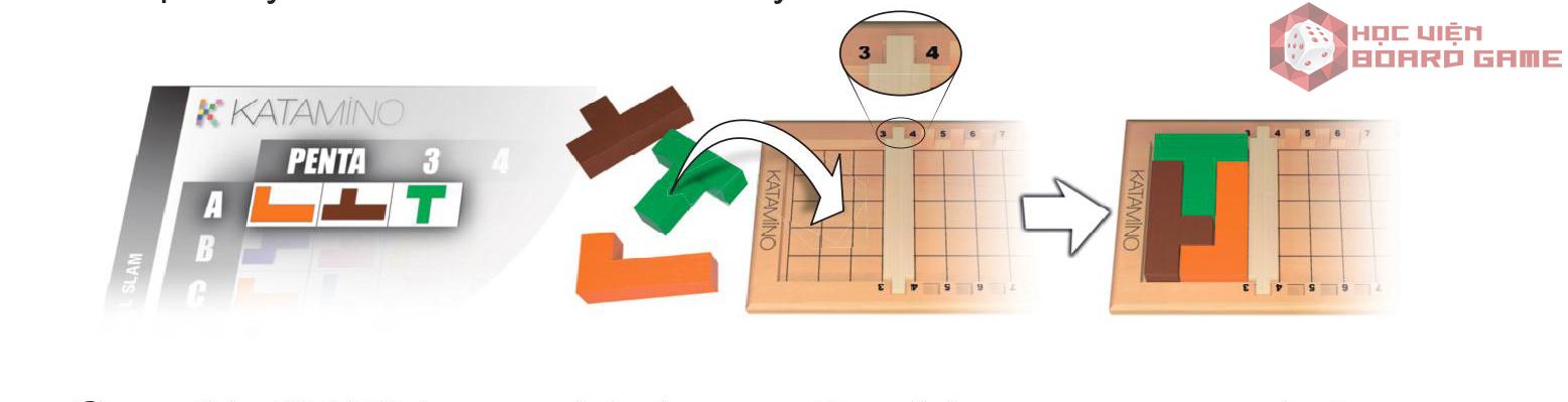 Hướng dẫn cách chơi boardgame Katamino