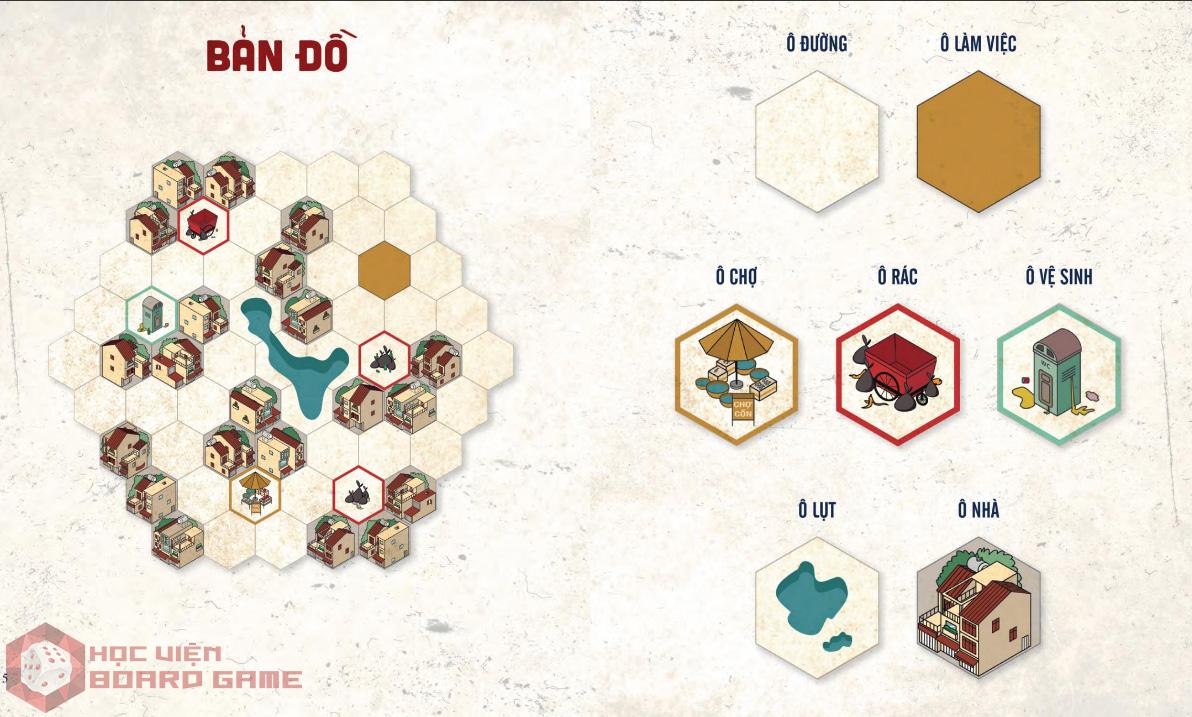 Hướng dẫn cách chơi board game Xóm Chim chi tiết nhất