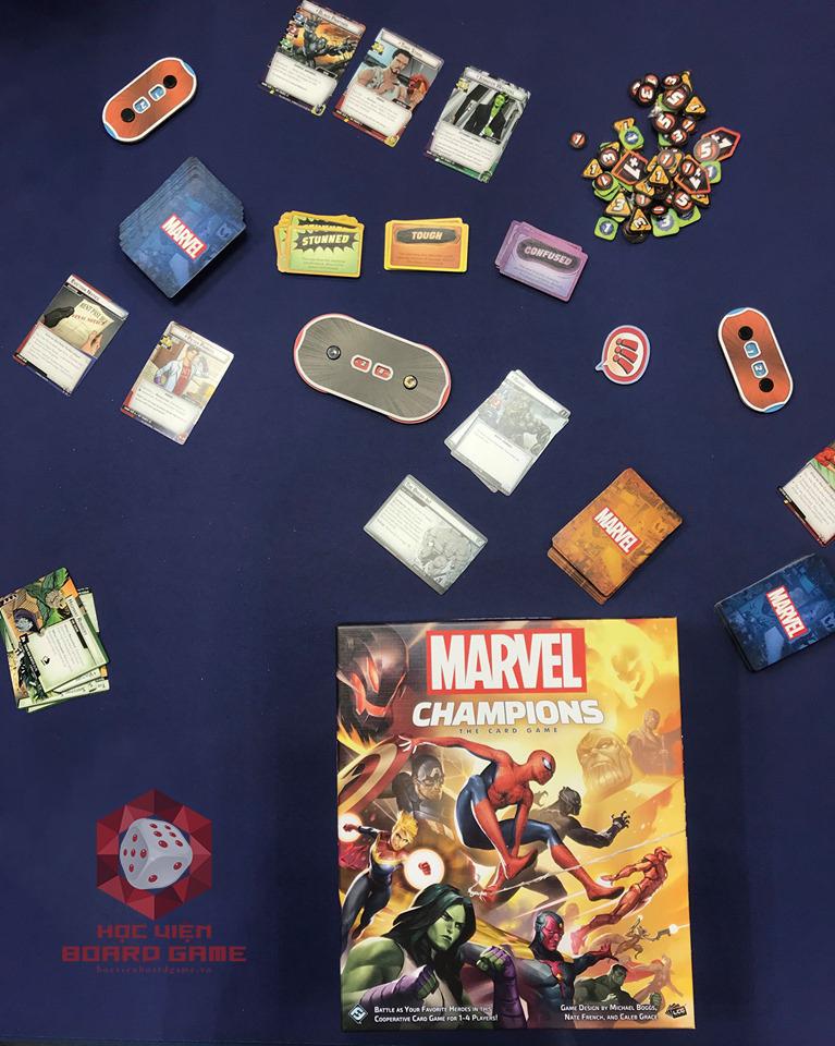 Hướng dẫn cách chơi Marvel Champions The Card Game