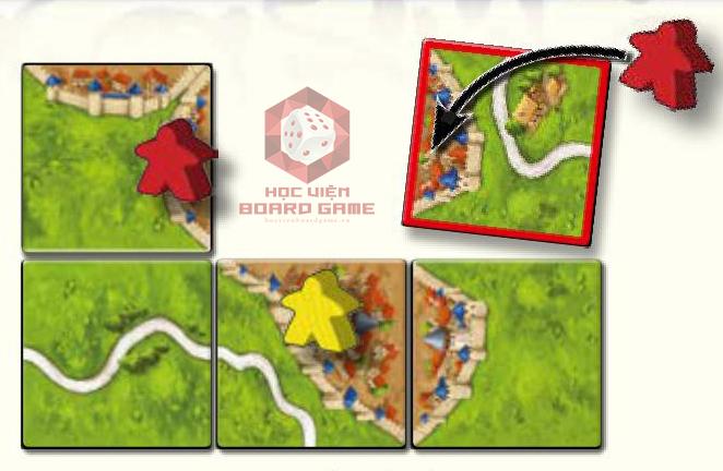 Hướng dẫn luật chơi board game Carcassonne chi tiết nhất.