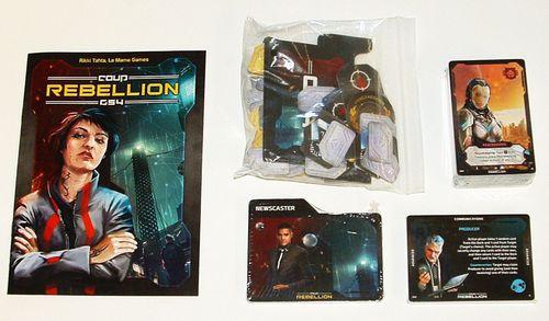 Thành phần board game Coup: Rebellion G54