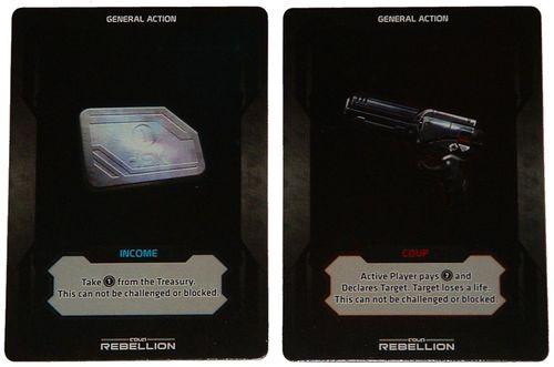 Các thẻ bài General Action