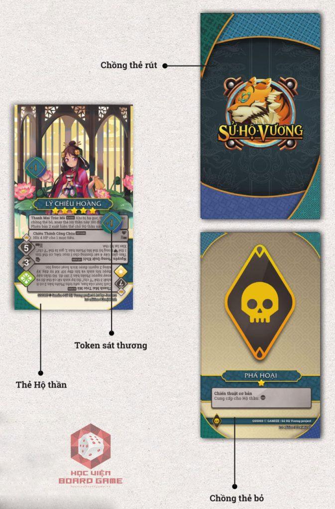 Hướng dẫn cách chơi board game Sử Hộ Vương