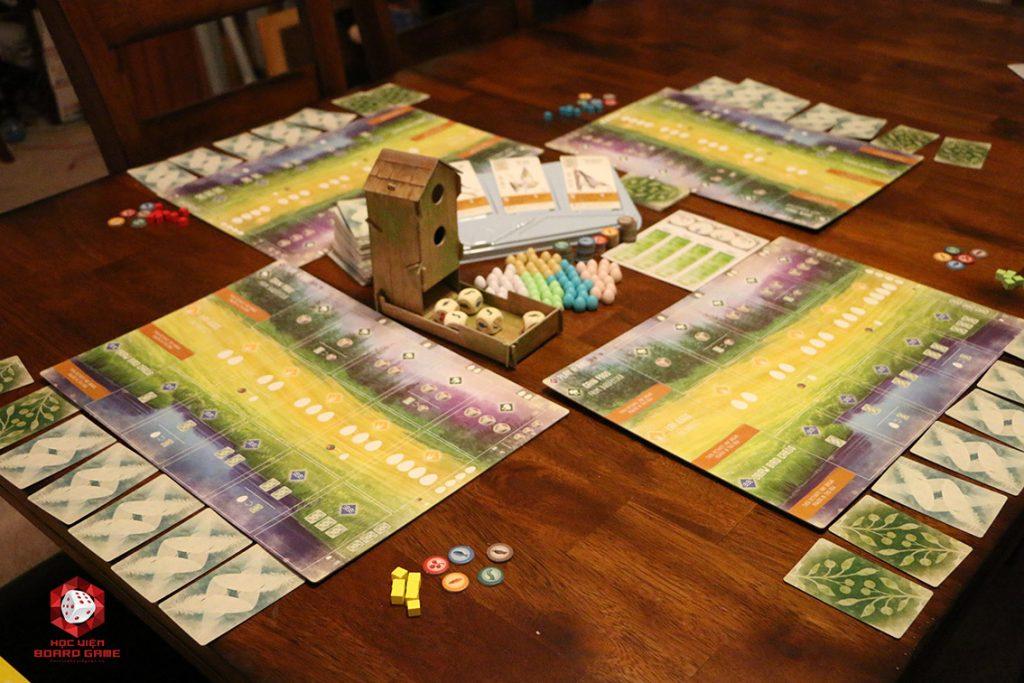 Hướng dẫn cách chơi board game Wingspan