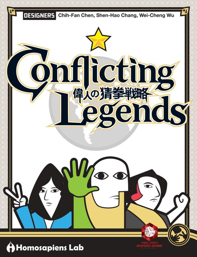 Hướng dẫn cách chơi board game Conflicting Legends