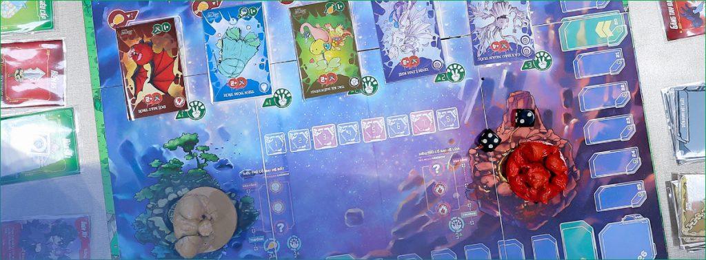 Thiết kế cứng cáp trên tông màu galaxy huyền ảo, Siêu Thú Ngân Hà sẽ đưa người chơi du hành trong thế giới linh thú giả tưởng đẹp đến mê hoặc.