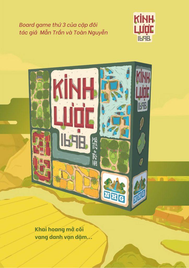 Sự kiện ra mắt board game Kinh Lược 1698 Ngũ Hành Game